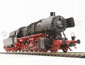 parní lokomotiva BR50 629 DB s vanovým tendrem