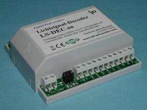 LS-DEC-8x2-G návěstní dekodér