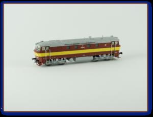 T478.1060 ČSD, červenožlutá, Ep.IV