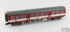 Bhfn 043 032-2 ČD TT přípojný vůz