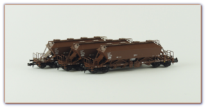 Set výsypných vozů Uaoos9331, DR