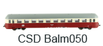 Balm 20 09 169-9 ČSD TT přípojný vůz
