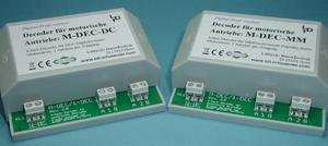 M-DEC-DC-F dekodér pro mot. přestavníky