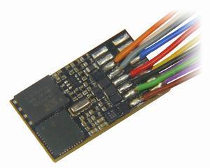 MX648 miniaturní zvukový dekodér s vodiči
