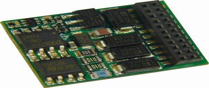 MX634 H0 lokodekodér s vodiči