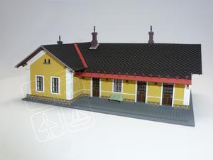 Výpravní budova Adršpach H0 - 1