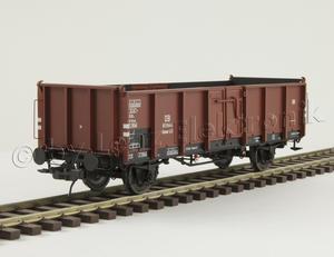 Omm43 vysokostěnný vůz, DB, č.811 644