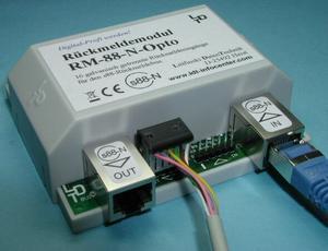 RM-88-N-O-B modul zpětného hlášení s88