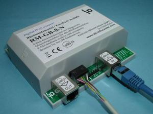 RM-GB-8-N-B modul indikace obsazení s88