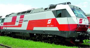 1014.011 ÖBB v nátěru Rail Cargo Austria